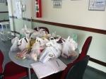Fotos de todos os alimentos arrecadados. Infelizmente algumas pessoas não levaram os alimentos, as mesmas não participaram dos sorteios.